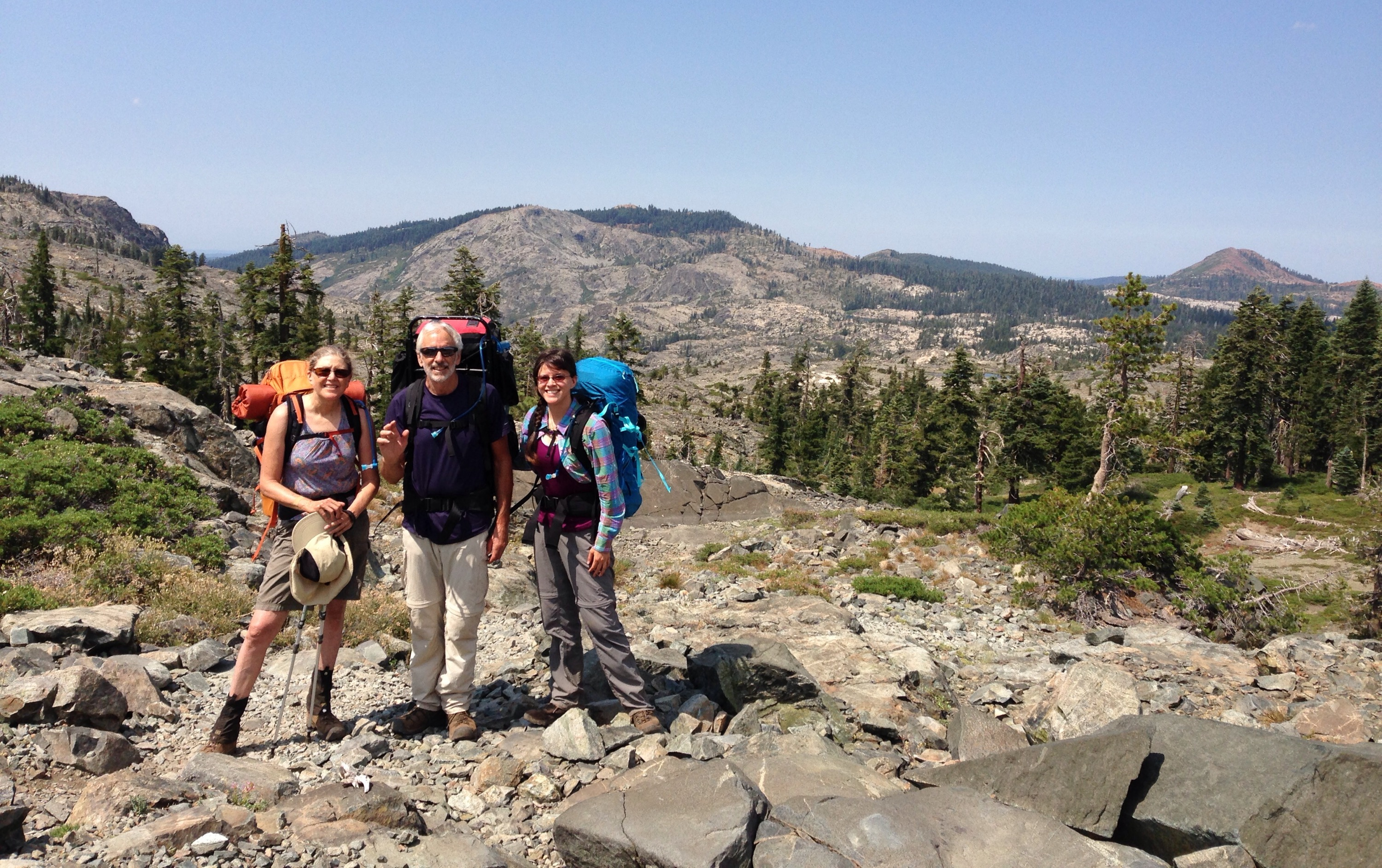 Backpacking With My Parents In The Summer Of 2013